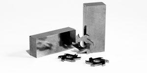 Frese e piastre rettificate in metallo duro - prodotti in tugnsteno su disegno cliente - Outils