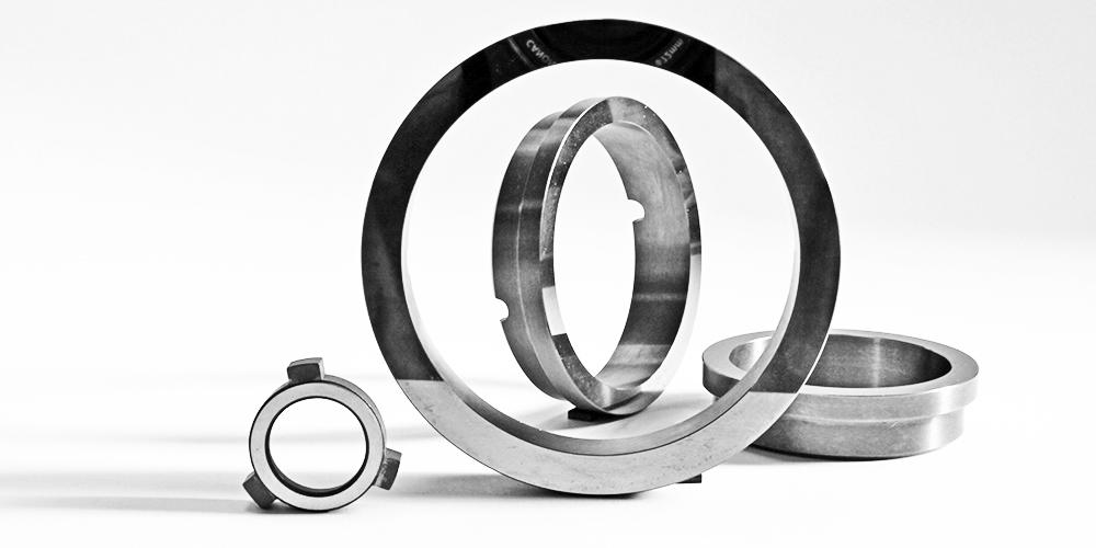 Anelli da tenuta - prodotti in tungsteno su disegno cliente - Outils